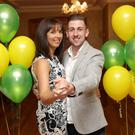 Noelle Holly and Conor Finn who will be dancing the Tango