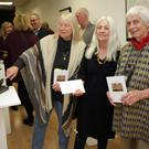 Ireland Professor of Poetry Paula Meehan with authors Judy Russell and Rosie Wilson