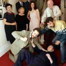 Square One in rehearsals for 'The House' by Tom Murphy opening on the 3rd November in the Mermaid Arts Centre and then running every night at 7.30 til the 7th