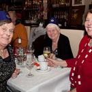 Patricia O'Neill, Rosaleen Flynn & Alice Dancer at An Bothan Christmas Party in the Royal Hotel Bray