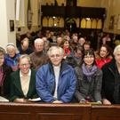 Siobhan Power, Gundi Von Teichmann, Rev Ken Rue, Carol Factor and Ivan Power at the Alchemy Valentine's Concert at Nuns Cross