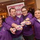 Amy Robinson, Leo Gilmartin, Grace McManus and Lauren Casey at Be Well Bray