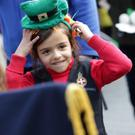 Paloma Vincens from the Greystones Girls Brigade was dressed for the occasion at a previous Greystones Parade