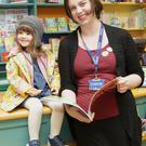 Beth McHugh and Aoife Harrisson at Peppa Pig Storytelling