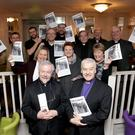 Monsignor Enda Lloyd and Archbishop Michael Jackson and the Joint Parishes of Enniskerry launch their new magazine 'The Clarion'in the Powerscourt Arms