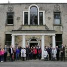 Delgany Tours tour of Altidore Castle and talk about Robert Emmet's influence on 1916
