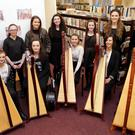 Irish Harp Recital with poetry and prose in commemoration of the Easter Rising at Bray Library