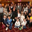 Charlie Sargent celebrating his 70th birthday at the Royal Hotel with his wife Carol, sister Nancy, children Audrey, Janet, Darren, Donna, Caroline and his grandchildren