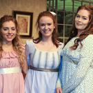 Members of Square one theatre group during their production of 'Pride & Prejudice' in the Mermaid arts centre, Bray