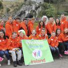 The Wicklow group who travelled to Lourdes with the Irish Pilgrimage Trust recently