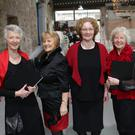 Cathy Upton, Angela Buckley, Margaret Gillespie, Patricia Coleman and Linda Linnie
