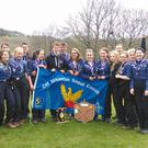 The victorious members of 12th Wicklow Scout Group from St Peter's, Bray