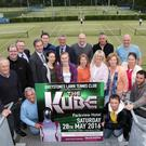(Back, from left) Contestants Ro bert Mowatt, Ricky Wogan, Paul McKnight, Michael Quinn, Main Sponsor Derrick McGovern of McGovern Estates, Hugh Nohilly, Donal O'Sullivan, Niall Flynn, (middle) Megan Wojnar, Rachel Allen, Val Farrar, Therese Ryan, Sheenagh Hogarty, Lottie O'Sullivan, Rory Cruikshank, Rob Tierney, (front) Ed Wogan and Conor Woods