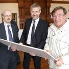 Jerry Barnes from MacCabe Durney Barnes, Larry Brennan from Savills and Philip Moynihan at last Tuesday's meeting