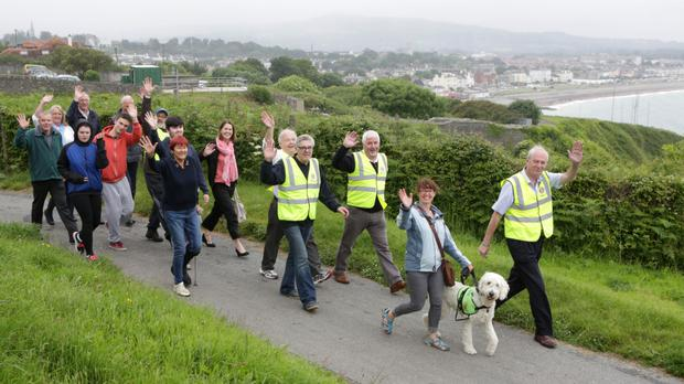 The Lions Club invite you to walk the Cliff Walk to Greystones in support of Marino School and Open Door on Sunday 26th June at 11am