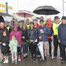 Lions Club sponsored Cliff Walk: the ladies from Yinn Dee Massage and Bray Lions set off from the Bray End of the Cliff Walk