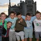 Liam Tully, Felix Kehoe, Callum Tully, Sonny Kehoe and Rhys Lally at Ocean Colour Scene on Sunday night