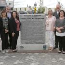 Officials, Wicklow County Councillors and special guest at the unveiling of the 1916 garden in Greystones