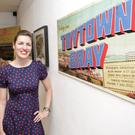 Aoife Hester at the opening of her exhibition 'Toytown Bray' at the Signal Arts Centre