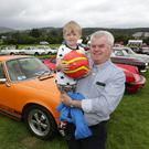 Garden of Ireland Vintage Show in Ashford: Zak and Pat Byrne from Roundwood