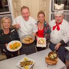 Leslie Dowdall, Karl 'Charlo' Clarke, Laura Wood, Rory Morahan the Druid chef and Mary Fogarty