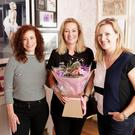Opening of the Lash Boutique at upstairs 4 Castle Street, Bray (L-R) Allie O'Shea, Thereasa Arcari, Trish Harte