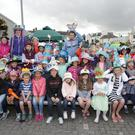 Caroline Foundation Hats Ahoy World Record Attempt at Greystones Harbour: the children who competed