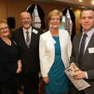 Shirley Morris, Stewart Morris, founder, Chris Goodman and Adam Byrne, HSE