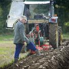 Billy Donnelly at the Barrindarrig vintage ploughing championships