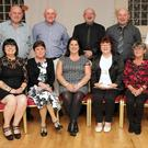 Back: Willy, Michael, Christy, Anthony, John. Front: Lorraine, Patricia, Sandra, Anna, Geraldine and Angela Fitzpatrick