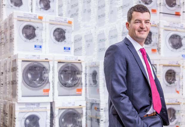 Phillip Martin, CEO of AppliancesDelivered.ie.