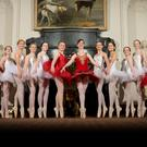 Ballet teacher Ruth Shine with some of her students