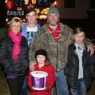 Jacinta Kavanagh from Purple House with Michael, Alice, Johnny and Gerry Murphy