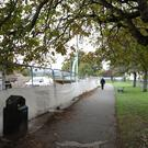 The Peoples Park in Bray where a skate park was proposed