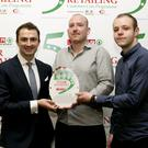 Keith Crawford SPAR Retail Operations Advisor with Radek Gawor and Jakub Niton SPAR Express Enniskerry