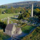 The monastic site at Glendalough