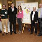 Brian Carty, Aoghus Wright, Pat Mellon, Vanessa Tebbitt, Huw O'Toole, Simon Wall and Anne Gregory at Newtown Mount Kennedy Future Planning Meeting at the Parkview Hotel last Thursday evening