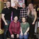 The team that will be bringing 'The Snapper' to the screen: Neil Finney (Dessie Curley), Ben Doran (Lester), Mark McGrogan (Georgie Burgess), Evonee Harvey (Mary) and, in front, Susan Blackbyrne (Kay Curley) and Rebecca Drew (Yvonne)