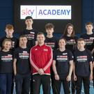 St Kilian's students take part in Sky Sports Academy day