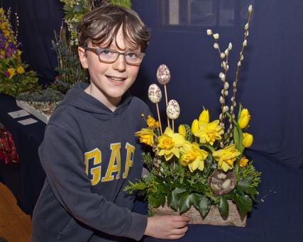 Lewis McNeill, 'Best in Show' in the junior category