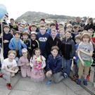 Some of the 140 participants in the St Cronan's inaugural sponsored walk, which raised a fantastic €5,000