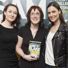 Alex Barclay, Sam Blake and Alison Canavan attend the launch of In Deep Water at Hodges Figgis. Photo: Ger Holland