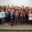 All the finalists at the National Scratch Coding Competition in Limerick