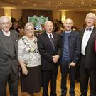 Fr John Wall with his family Micahel, Marie, Vincent, Finbarr and Noel