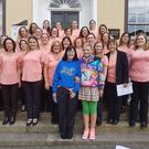 Bray Musical Society at the AIMS Choral Festival in New Ross last weekend.