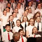 Singers from St Patrick's National School in Bray.