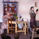 Agnes (Lesley-Ann Whelan), Rose (Sheena Griffin), Maggie (Laura Wood), Chris (Jodie Neary) in Dancing at Lughnasa' by the Greystones Players at Greystones Theatre.