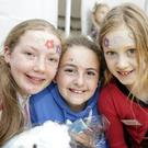 Mayah Costello, Martha McNerney and Lucie Balmer at the Magic Show
