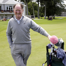 Eamonn Darcy at Powerscourt Golf Club last week