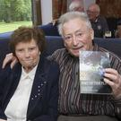 Lil and Paddy Behan at Paddy's book launch at Coollattin Golf Club.